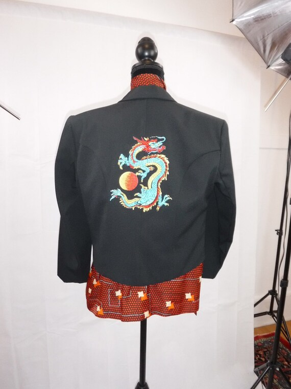 1980s Blazer with Dragon