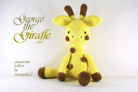 32 Free Crochet Giraffe Amigurumi Patterns ⋆ DIY Crafts | 380x570