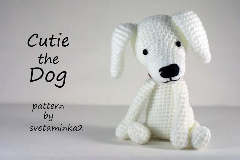 Baby Pug Dog Amigurumi Free Crochet Pattern | 529x794