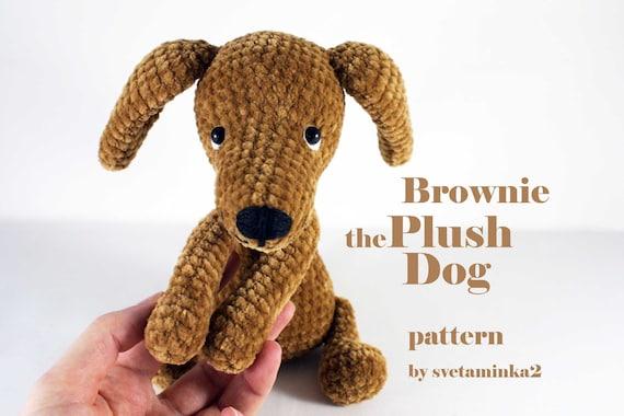 la1129f3d amigurumi dog pattern - laddukavala.com | 380x570