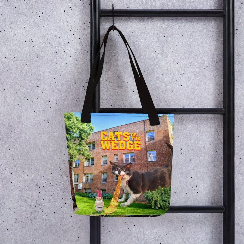 Cats of the Wedge Cat Tour Tote Bag image 0