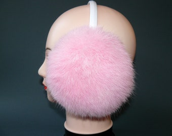 Saint Helena Africa National Emblem Winter Earmuffs Ear Warmers Faux Fur Foldable Plush Outdoor Gift