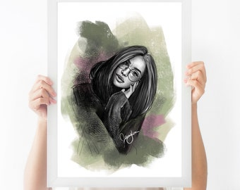 Illistrated portrait