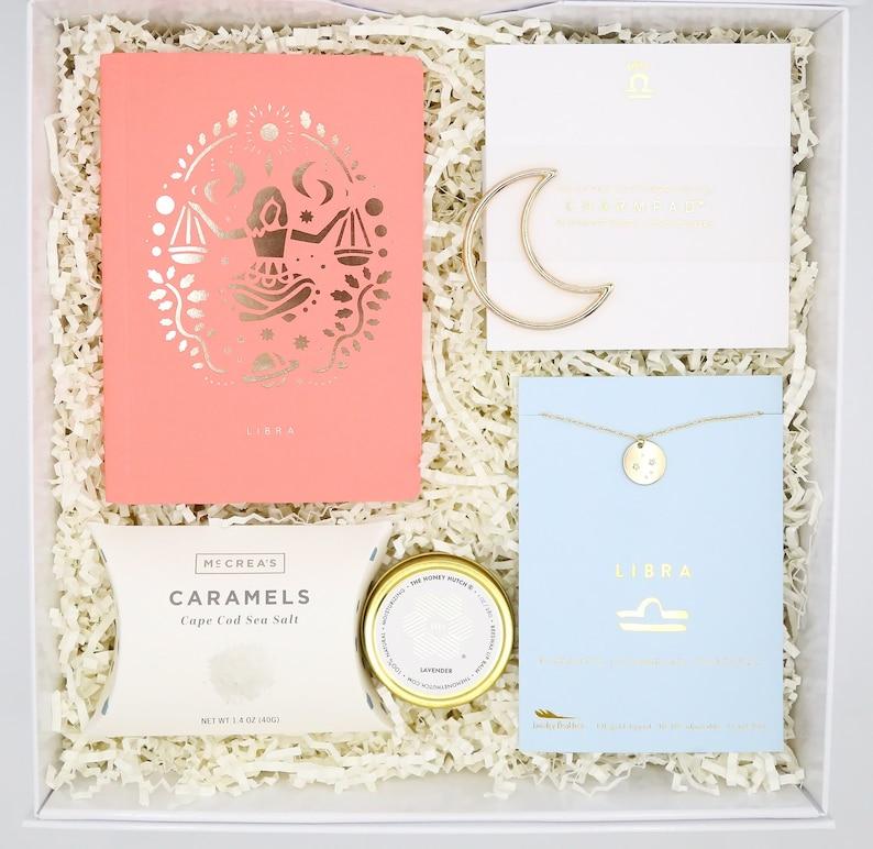 Zodiac Birthday Gift Box  Birthday Gift  Necklace Gift  image 0