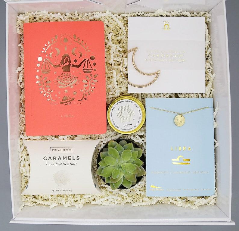 Zodiac Birthday Gift Box  Necklace Gift  Astrology Gift  image 0