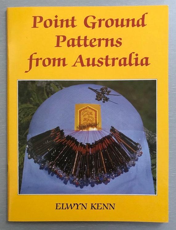 Point Ground Patterns from Australia by Elwyn Kenn or Polychrome de Courseulles 9 Modeles by Claudette Bouvot Bobbin Lace Books 15.00 ea