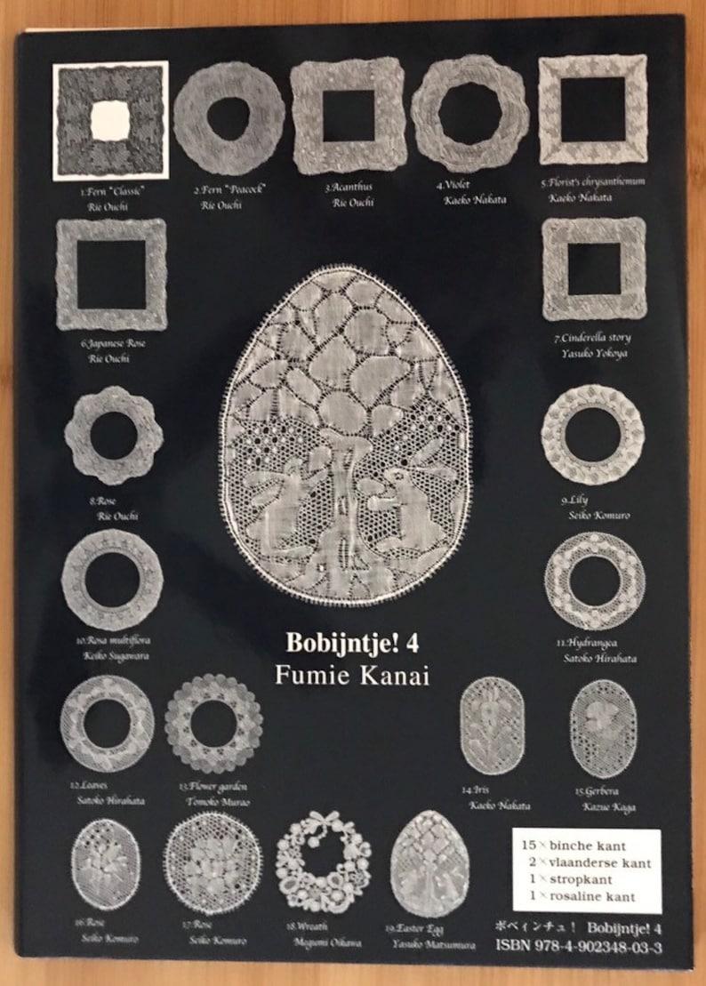 4 at 49.50 by Fumie Kanai Advanced Lace Patterns in Binche Torchon and more 3 at 49.50 /& Bobijntje Bobbin Lace Books Bobijntje Flanders