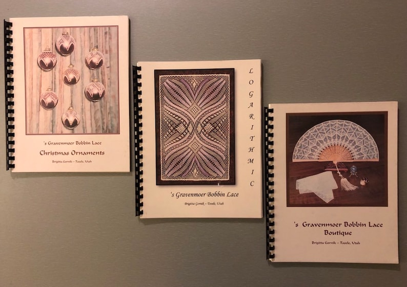 a81d09b11 Bobbin Lace 's Gravenmoer Books Christmas Ornaments 45.00   Etsy