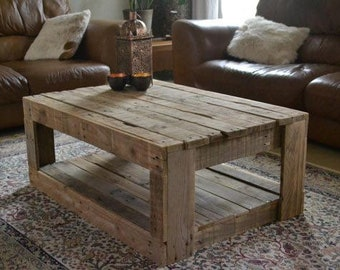 Rustic Coffee Table, Barn Wood Coffee Table, Coffee Table