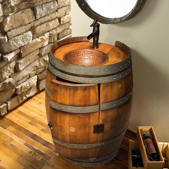 Wine barrel bathroom vanity   Etsy on wine or whiskey barrels, wicker bathroom vanity, chocolate bathroom vanity, pineapple bathroom vanity, wine keg, wine barrel bathroom shelves, green bathroom vanity, wine barrel vanity light, wine cask bathroom vanity, wood bathroom vanity, raspberry bathroom vanity, oak bathroom vanity, walnut bathroom vanity, old wooden barrel made into a vanity, wood barrel vanity, copper sinks for bathrooms vanity, window bathroom vanity, crate and barrel bathroom vanity, half barrel vanity, barrel sink vanity,