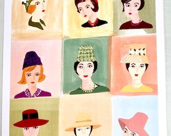 Nine Hats
