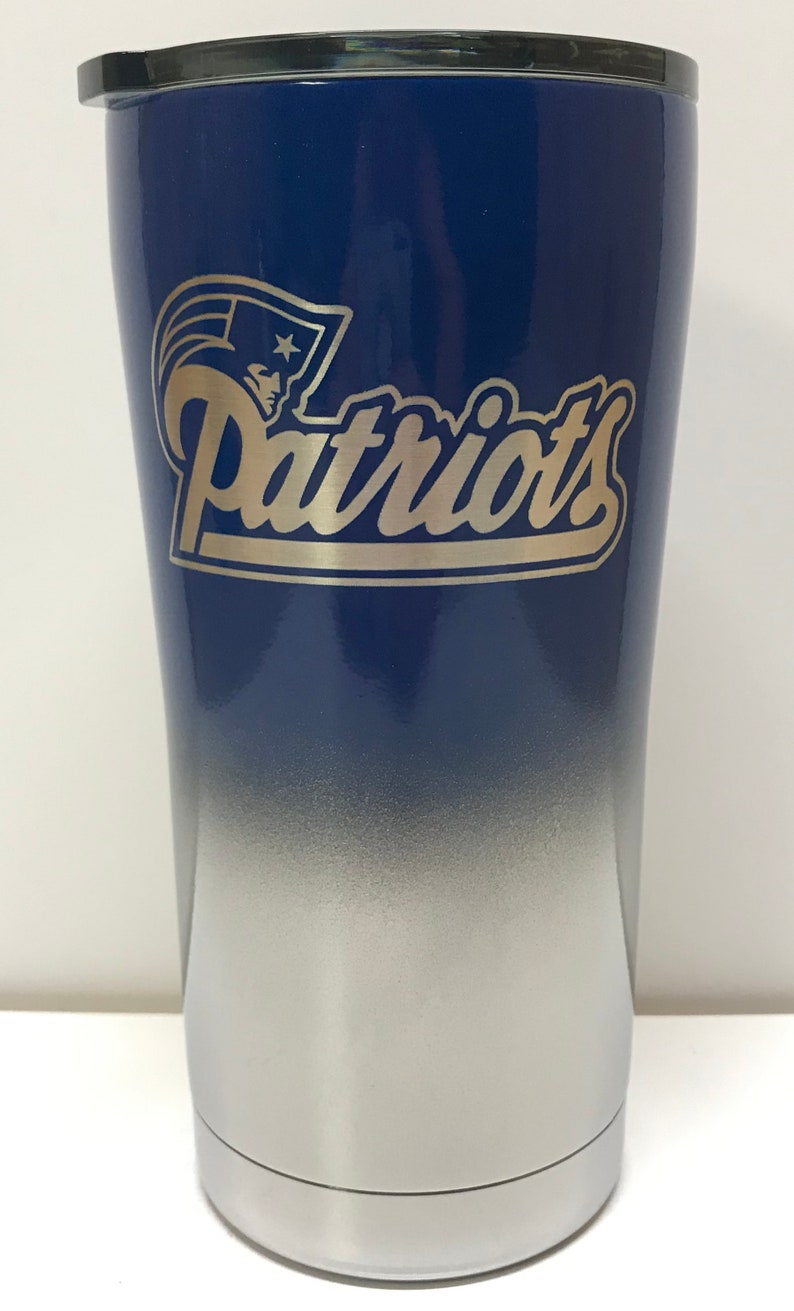 76c5d260407 New England Patriots/ Tom Brady 20 oz Stainless steel tumbler | Etsy