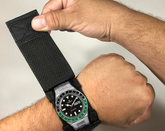 Rolex Watchband Cover Protection - Fits 99% of all Traditional Watches - Not for smartwatches (No sensor opening)