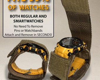 Airsoft Universal Watch Band Watch Cover - Protect Your Watch While In The Field