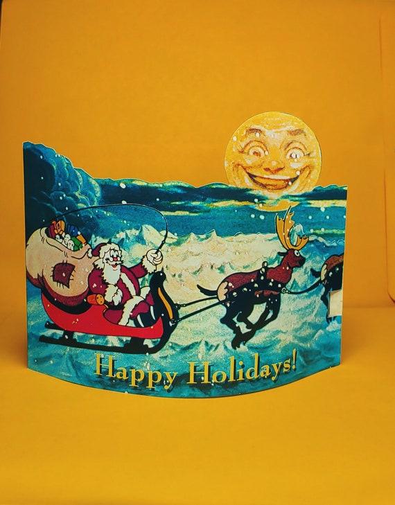 May the holiday magic last year /'round Disney Michael Eisner Happy Holidays Card