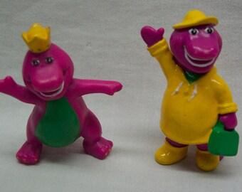 Barney plastic toy | Etsy