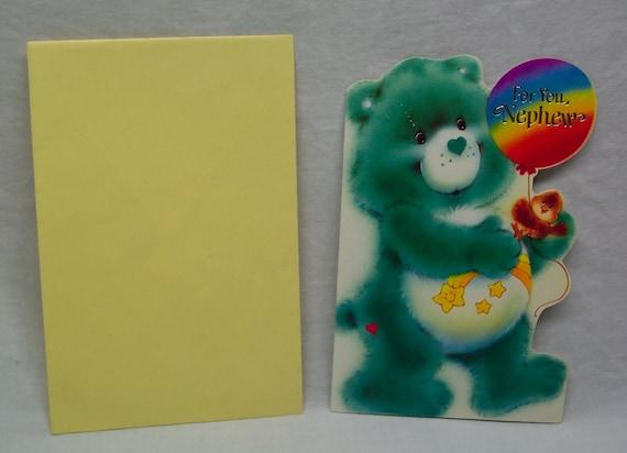 "CARE BEARS /""WISH BEAR/"" VINTAGE PIN AMERICAN GREETINGS CORP 1985"
