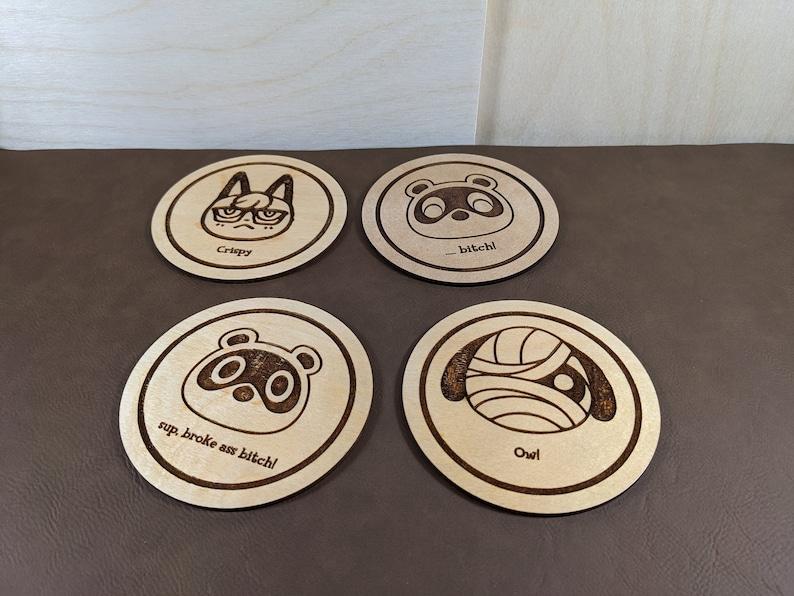 Animal Crossing Coasters