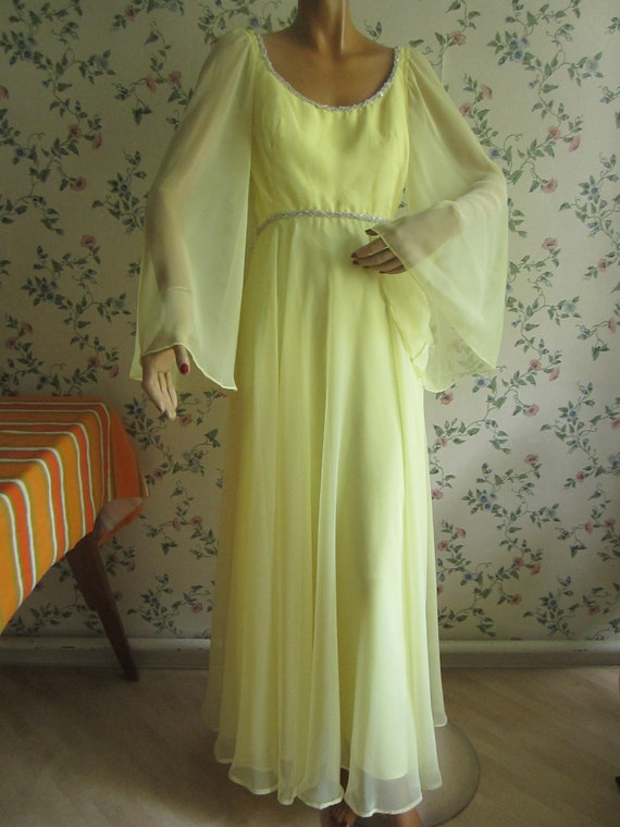 Abiti Da Sera Anni 7080.Beautiful Backless 1960s Mike Benet Evening Dress Size S Etsy