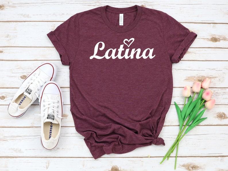 Mexicana Morena Chicana AF T-shirt Women Right I Love Latina Beautiful Shirt