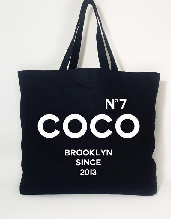 df533afd5cde Coco No 7 Tote Bag Coco Chanel bag Chanle bags for her
