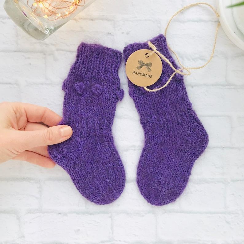 c34745d15 Knee socks baby Knit baby socks Custom socks Knitted socks