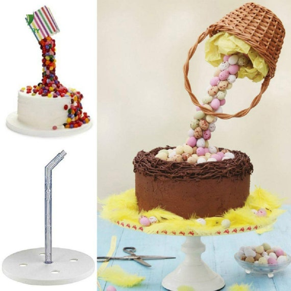 Anti-Gravity Pouring Cake Kit Cake Frame Steady Gravity Defying Cakes  Create Your Own Showstoppers Baking Tool Cake mold