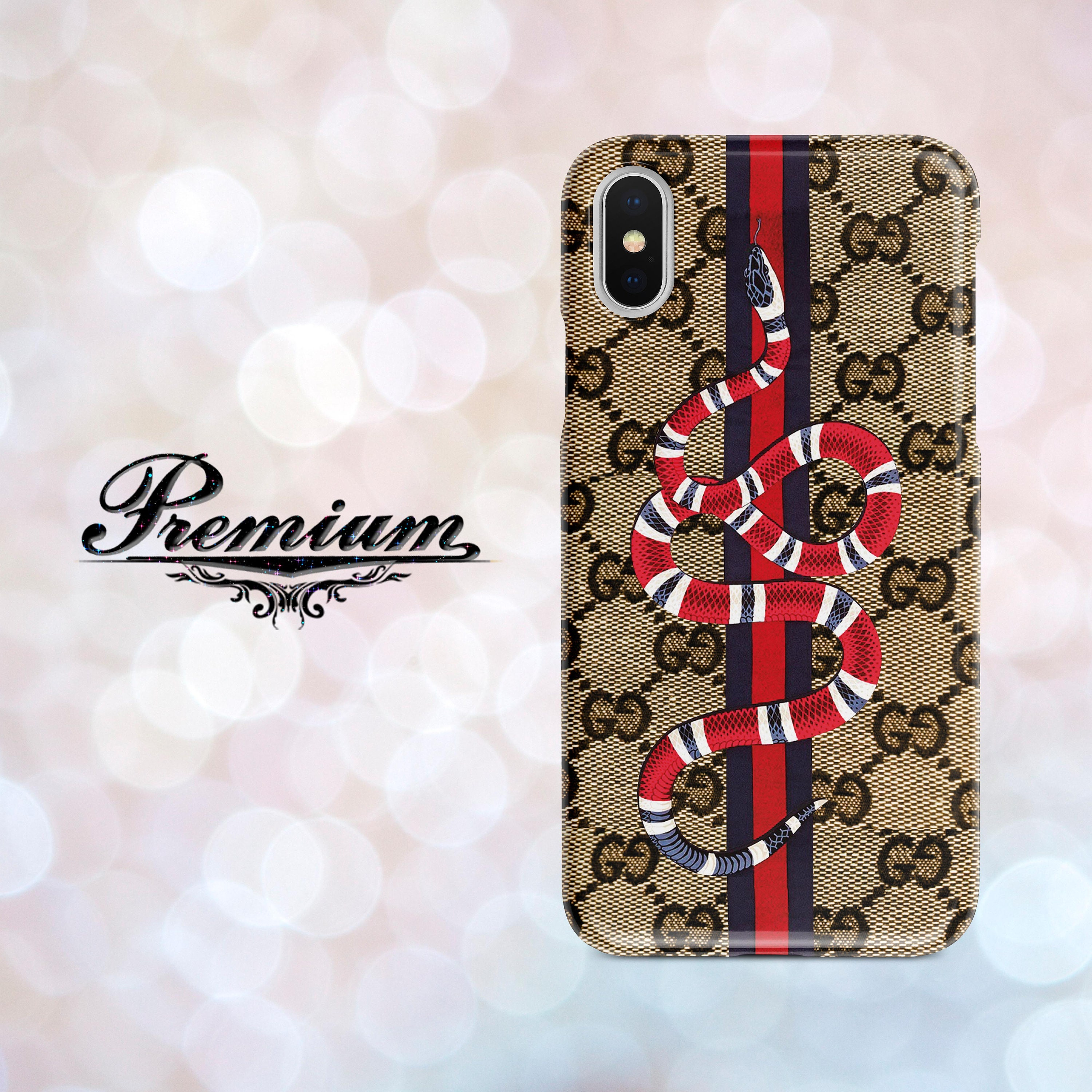 official photos 7ceb1 ab93e Inspired Gucci Phone Case Gucci Snake iPhone SE Case Gucci iPhone 7 Plus  Case iPhone Gucci case Red Snake iPhone 6 Plus Gucci Case for Phone