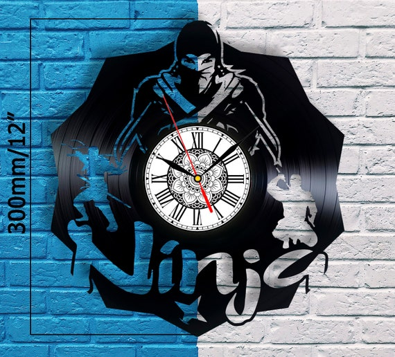Ninja Gifts For Men Clock Birthday Gift Japanese