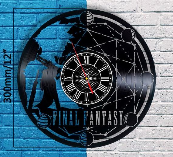 Ffxv Cosplay Vinyl Clock Final Fantasy 5 Sephiroth Final Etsy
