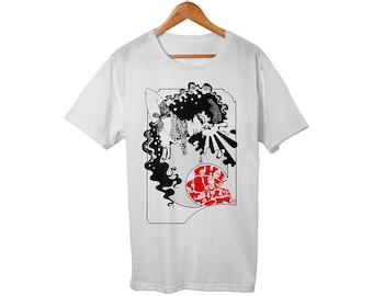 4cb26e7eec5f6 Honeybus Power Pop Black/Yellow T-Shirt Limited edition 25   Etsy