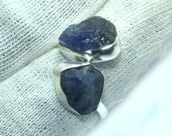 Rough Gemstone Ring