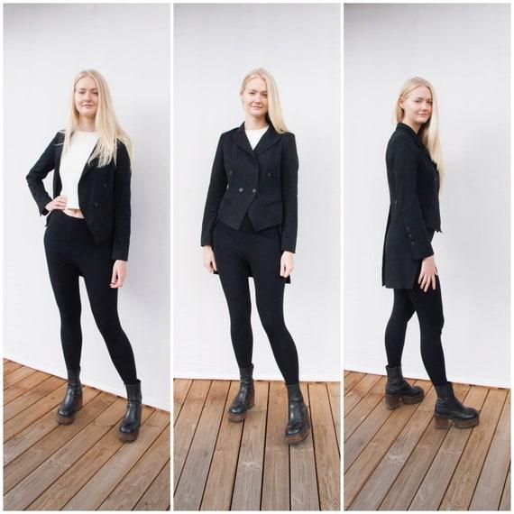 Vintage Tuxedo Jacket Women Small Tuxedo Suit Jack