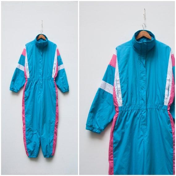 80s Ski Suit Women Small One Piece Ski Suit Women