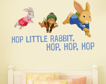 Official Peter Rabbit Rope Swing Wall Sticker Mural