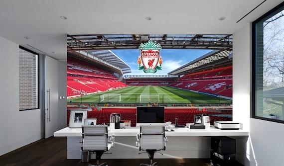 Beau jeu officiel Liverpool FC Anfield complet Mural Autocollant Mural
