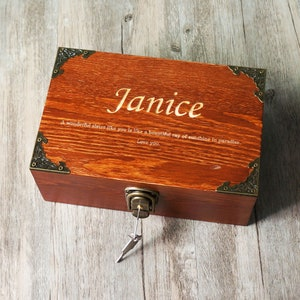 Bridesmaid Gift,Photo Jewelry Box,Gift For Mom Wood Box Custom Jewelry Box Personalized Jewelry Keepsake Box Memory Box Jewellery Box