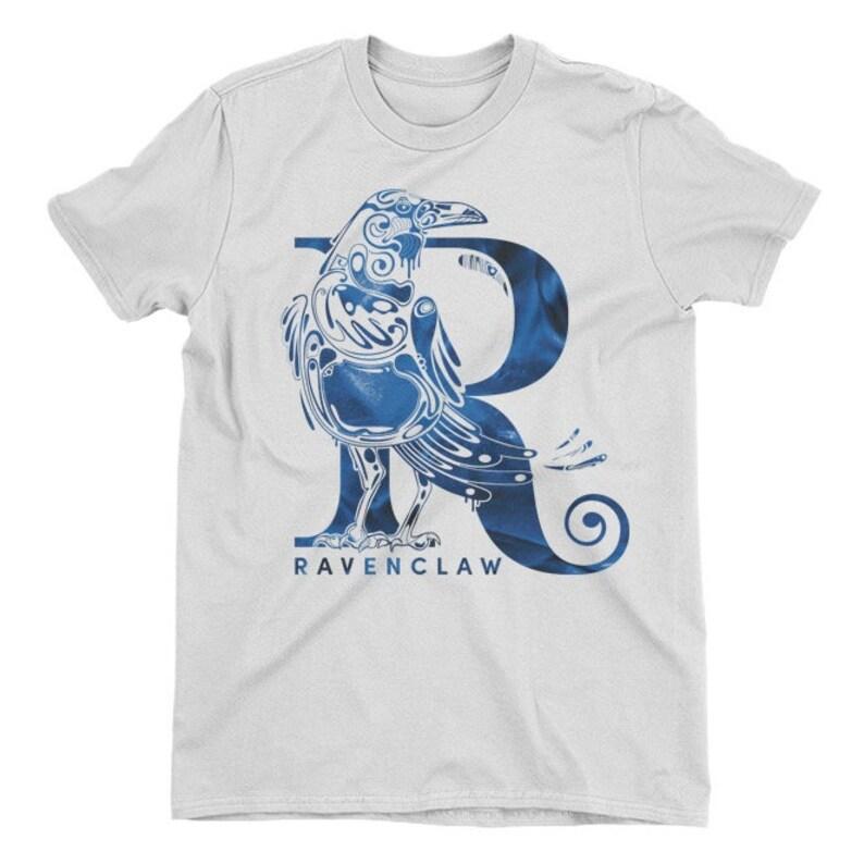 826dafde8c4e Harry Potter Ravenclaw Raven White Ladies T-Shirt | Etsy