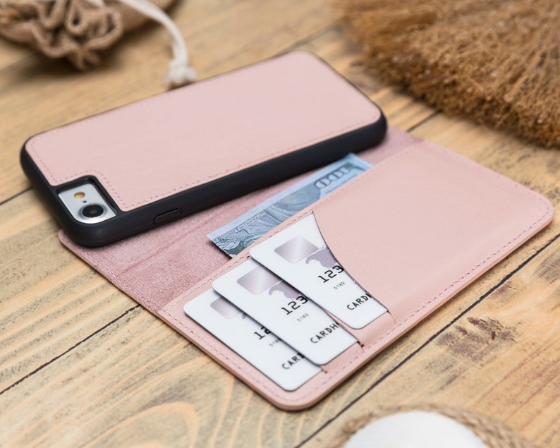 pink iphone 8 flip case