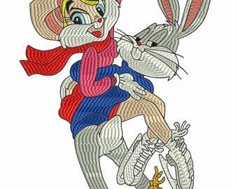 bugs bunny & lola