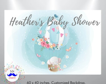 Photo Studio Custom Black Silver Royal Prince Teddy Bears Chandelier Baby Shower Background Computer Print Party Photo Backdrop Traveling