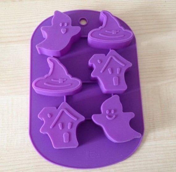 Candle Candy Chocolate Cake DIY Fimo Resin Crafts 6-Christmas Tree Cake Mold Soap Mold Flexible Silicone Mold For Handmade Soap