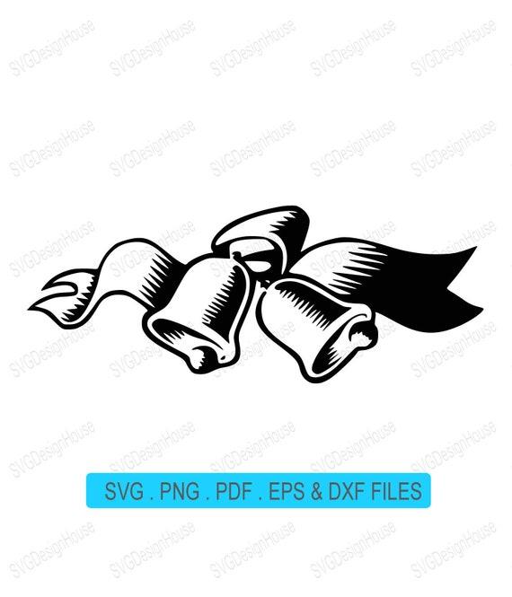 Christmas Bells Images Clip Art.Christmas Bells Svg Christmas Bells Vector Clipart Clip Art Pdf Eps Dxf Cutting File Vinyl Design Cnc Laser Engrave 0194