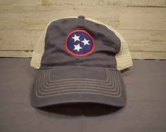 ec700352 Relaxed Style Baseball Hat with Tristar