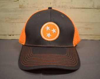 7fce6ee6 Trucker Style Baseball Hat with Tristar