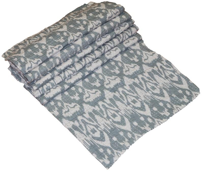 Indian Kantha quilt blanket throw vintage kantha quilt kantha throw indian throw coverlet kantha vintage kantha