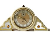 Vintage French SMI Alarm Clock, 1930 Art Deco