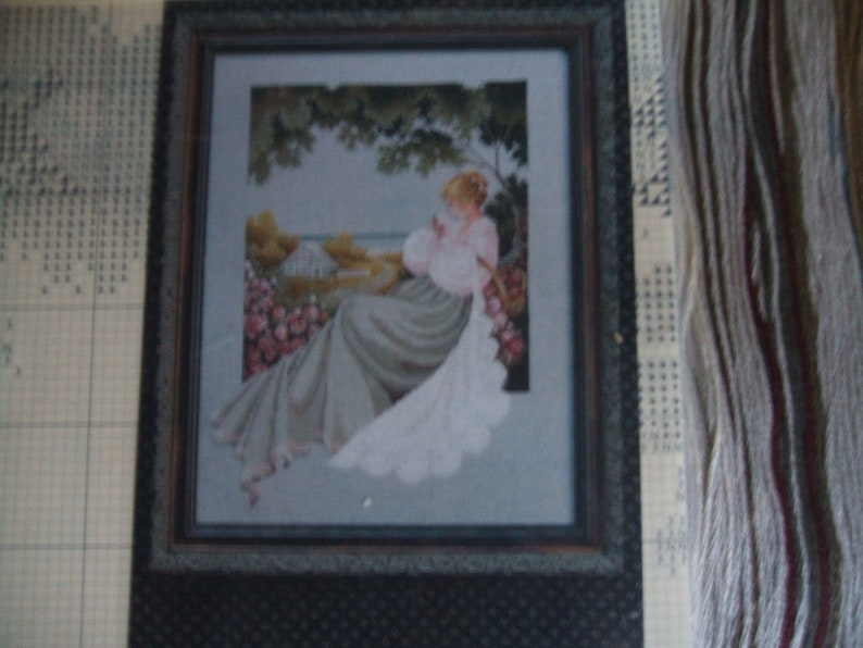 Cross stitch kit  Lavender and Lace