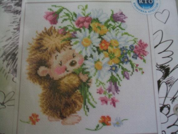 My Summer Present ! Cross stitch kit RTO