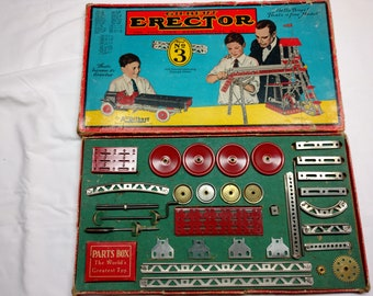 Erector Set Parts Etsy